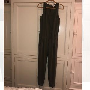 Joie Olive green jumpsuit
